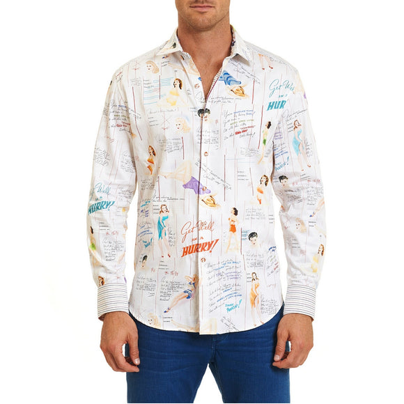Robert Graham Get Well Limited Edition Sport Shirt