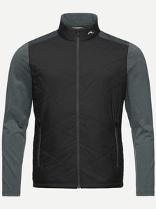 Kjus Black-Steel Grey Retention Jacket
