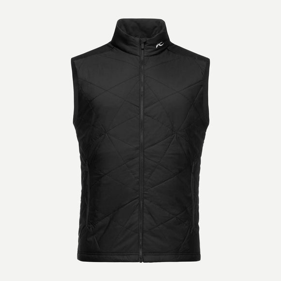 Kjus Black Men's Retention Vest