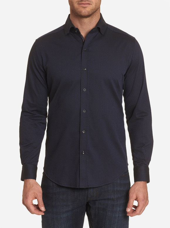 Robert Graham Charcoal Abells Sport Shirt