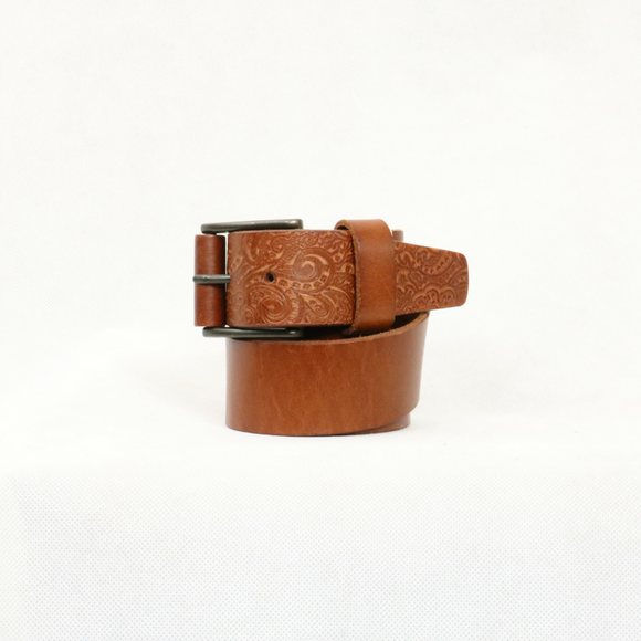 Robert Graham Cognac Penniman Belt