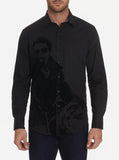 Robert Graham Black Chopper Sport Shirt