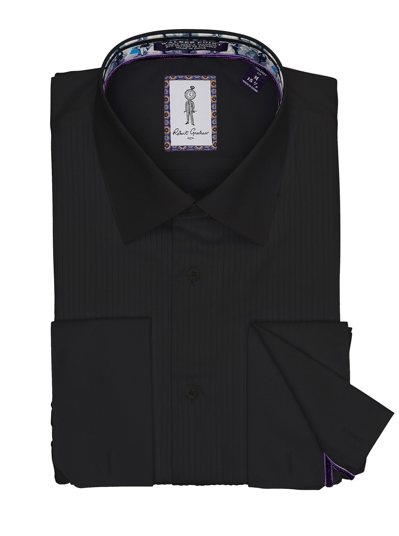 Robert Graham - Whitby - Black Dress Shirt
