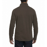 Robert Graham Walnut Elia 1/4 Zip Sweater
