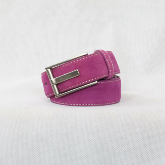 Robert Graham Purple Suede Riverside Belt