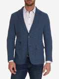 Robert Graham Blue Houndstooth Downhilll Sport Coat