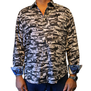 Robert Graham 2020 Black Rahal Sport Shirt