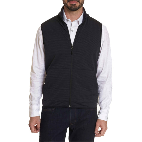 Robert Graham Black Campbells Commuter Vest