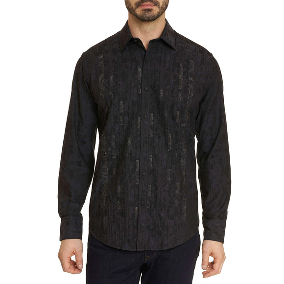Robert Graham Black Forum Sport Shirt