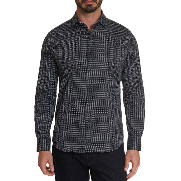Robert Graham Black Tharpe Sport Shirt