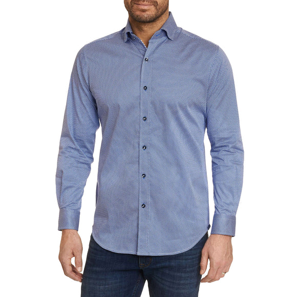 Robert Graham Blue Hubbards Sport Shirt