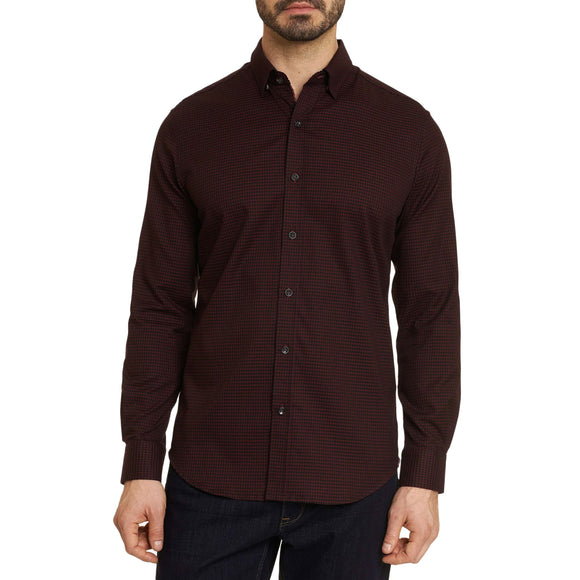 Robert Graham Bordeaux Everette Sport Shirt