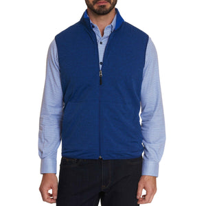Robert Graham Cobalt Blue Campbells Commuter Vest
