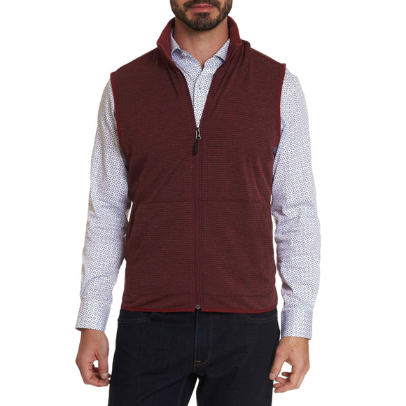 Robert Graham Red Campbells Commuter Vest
