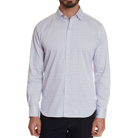Robert Graham White Tharpe Sport Shirt