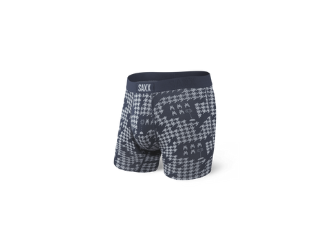 SAXX - Invaders Vibe Boxer Briefs - Navy
