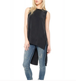 Go Silk Midnight Go Chase Your Tail Sleeveless Top