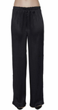 Maison de Papillon Gold/Noir Roan Reversible Silk Pants