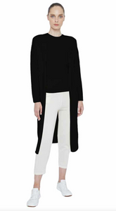 Maison de Papillon Black Whitney Duster Cashmere Sweater