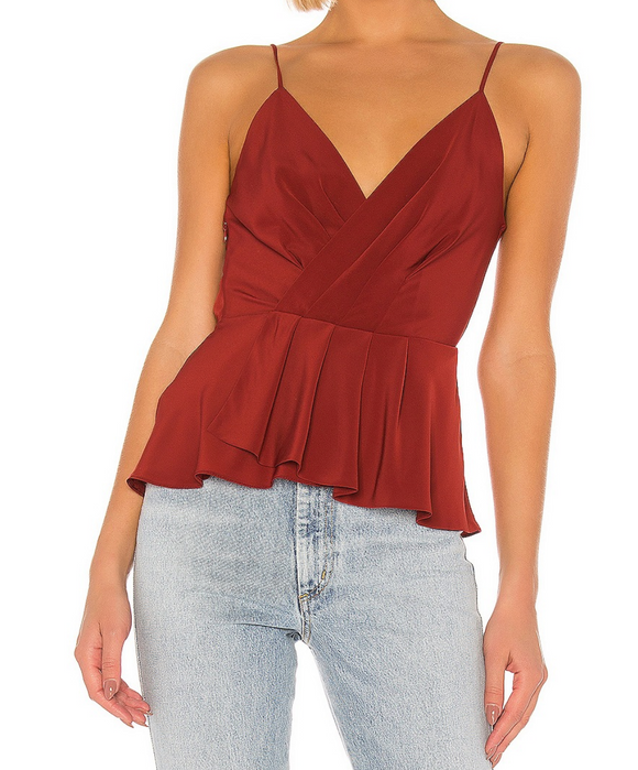 Bailey 44 Madder Anabelle Solid Cami