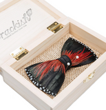 Brackish Big Spur 2.0 Rooster, Guinea & Pheasant Feather Bow Tie