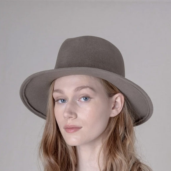 Brookes Boswell Jackson Mink Velour Hat