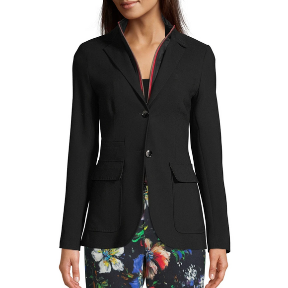Robert Graham Jet Black Kelly Woven Jacket