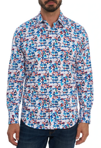 Robert Graham Multi Diamond Sport Shirt