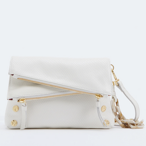 Hammitt Marshmallow White Snake Dillon Small Bag