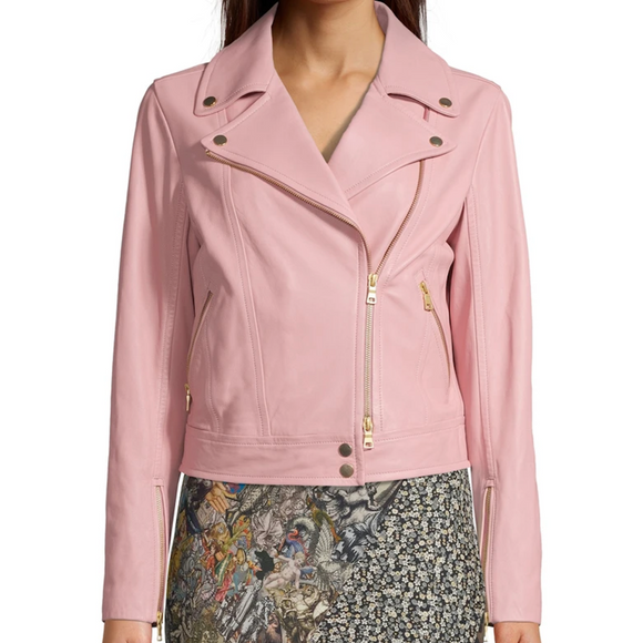Robert Graham Light Pink Peyton Suede Jacket