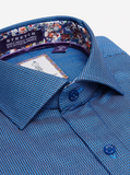 Robert Graham Blue Newton Dress Shirt