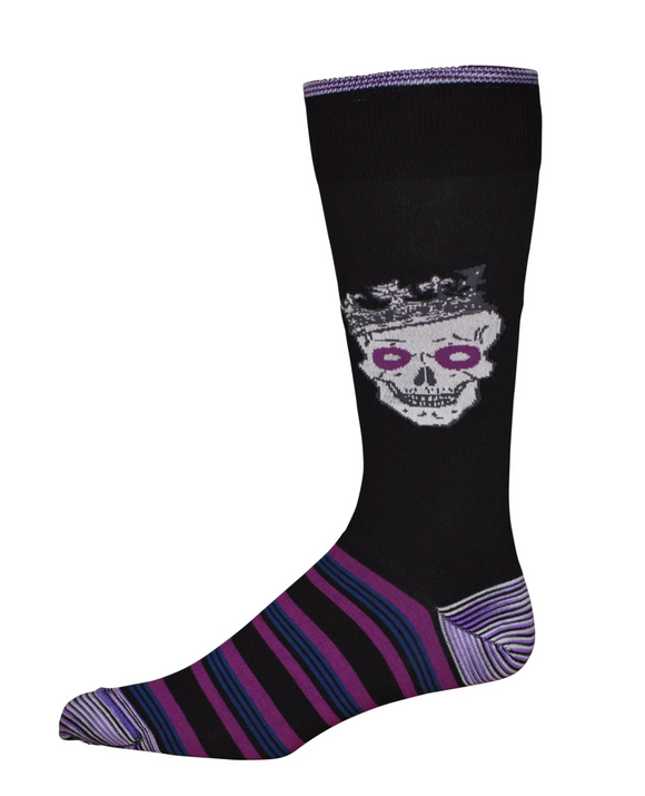 Robert Graham Black Art Of Darkness Sock