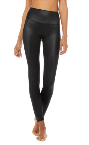 Alo Yoga Black 7/8 High Waist