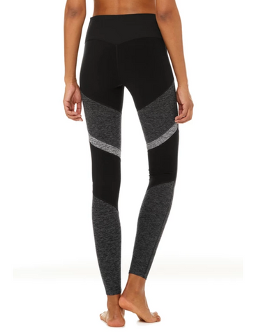 Alo Yoga Drk Grey/Zinc High Waist Sheila