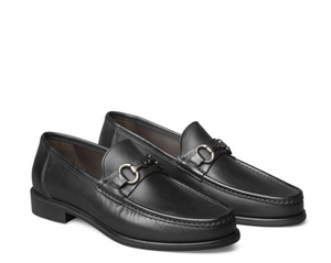 Johnston & Murphy Black Neilson Shoe