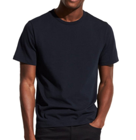 Vince Washed Coastal Blue Short Sleeve Crew