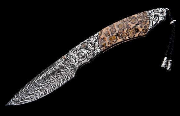 William Henry One-of-a-Kind Spearpoint Pocket Knife