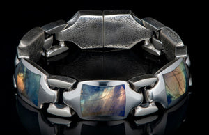 William Henry Labradorite Retro Bracelet