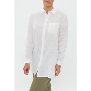 Brax - Venera Long Sleeve Blouse (White)