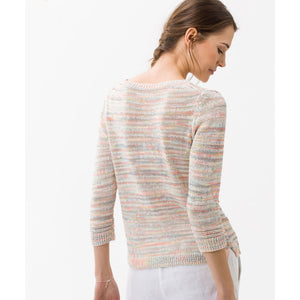 Brax - Lisa Fancy Knit Sweater Multicolour