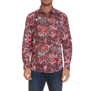 Robert Graham Blood Rose Sport Shirt
