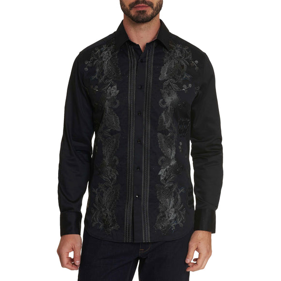 Robert Graham Black Gillman Limited Edition Sport Shirt