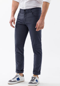 Brax - Blue Five-Pocket Cooper Fancy Trouser