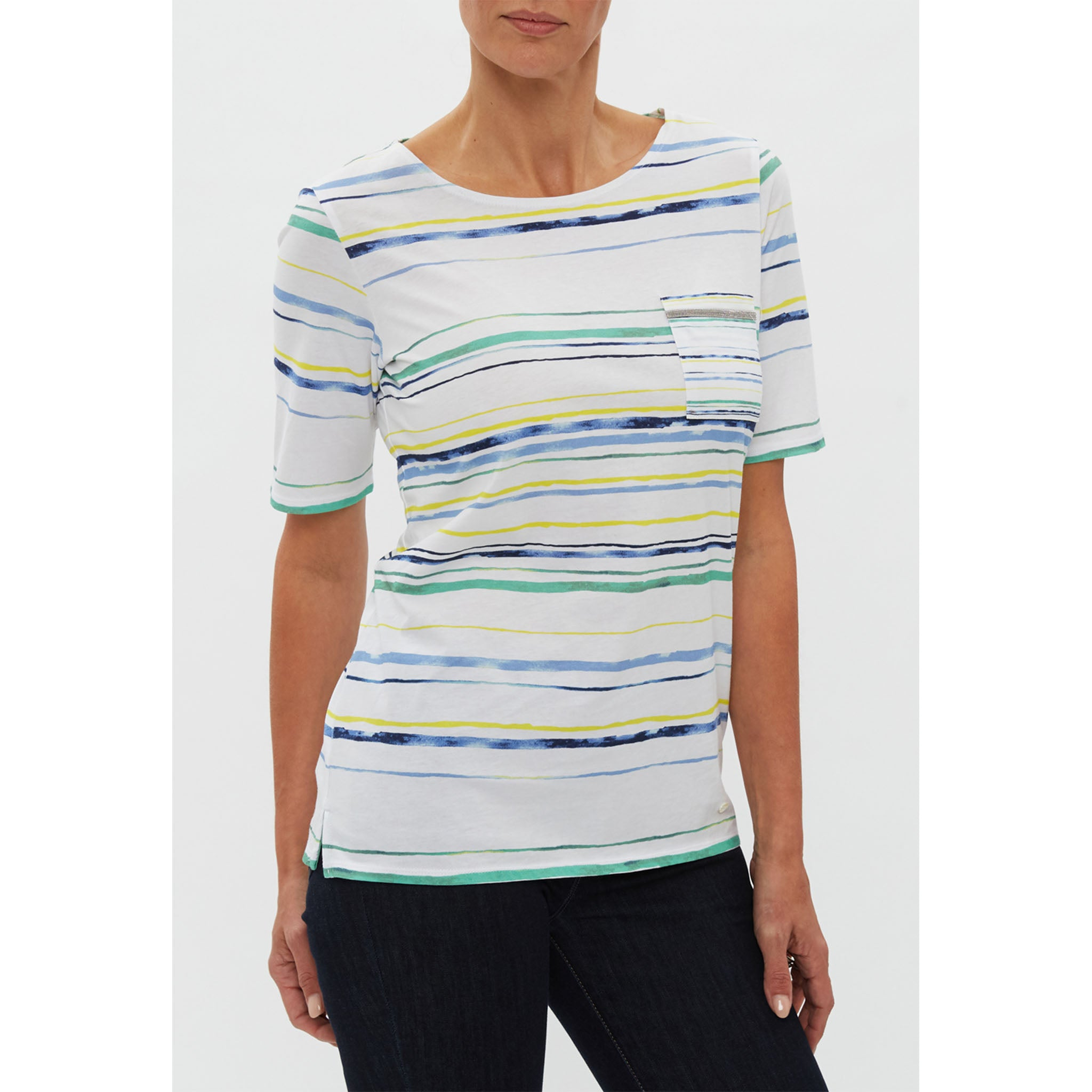 Brax - Collette Striped Shirt