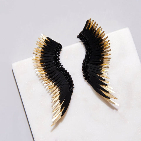 Mignonne Gavigan Black Gold Madeline Earrings