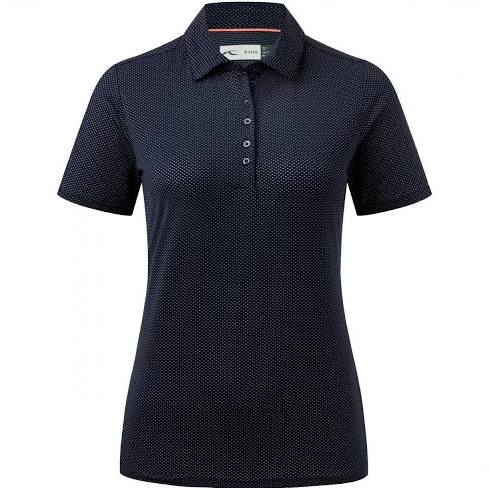 KJUS Atlanta Blue Eve Short Sleeve Polo