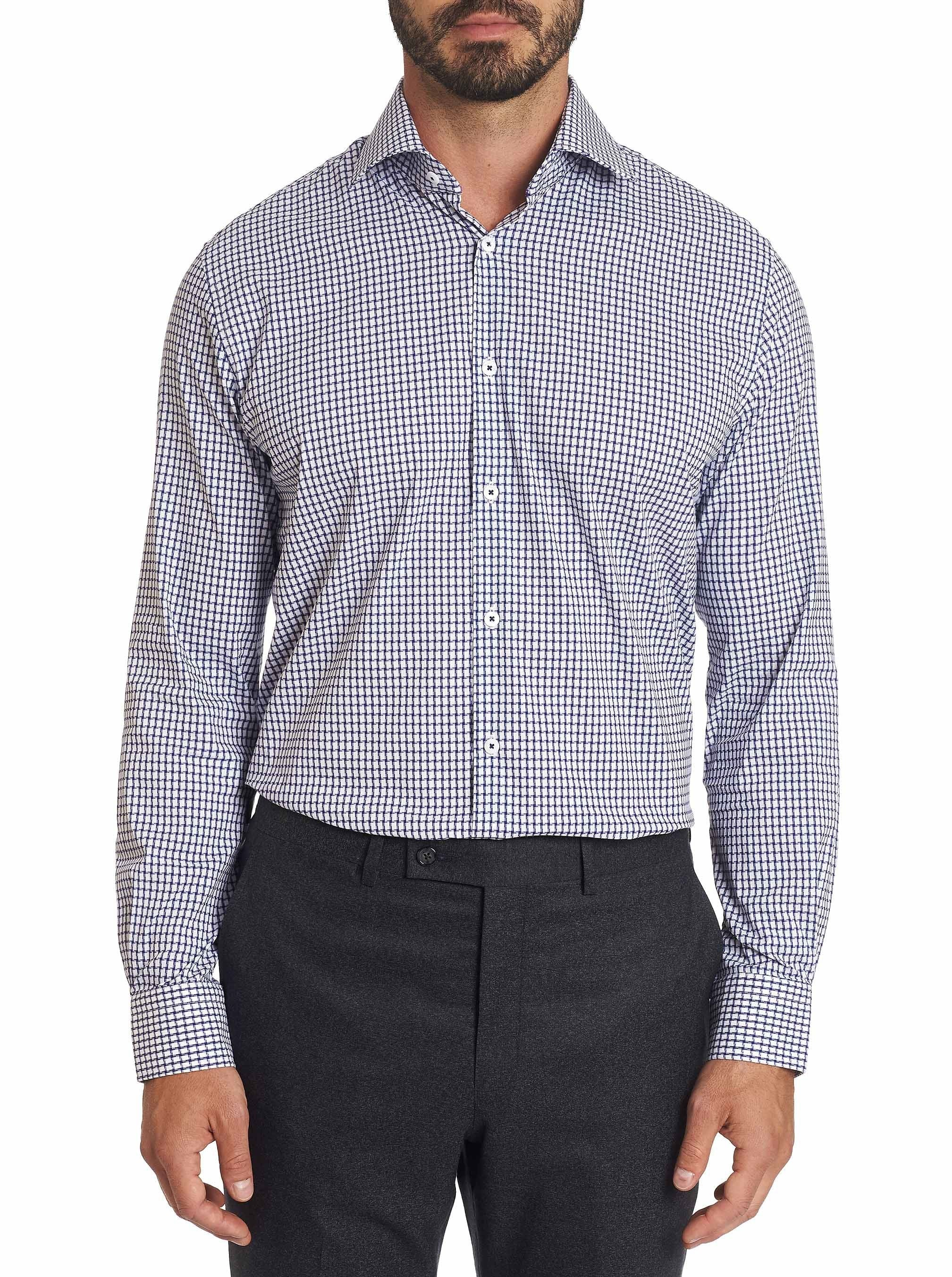Robert Graham - Acton - Blue Dress Shirt