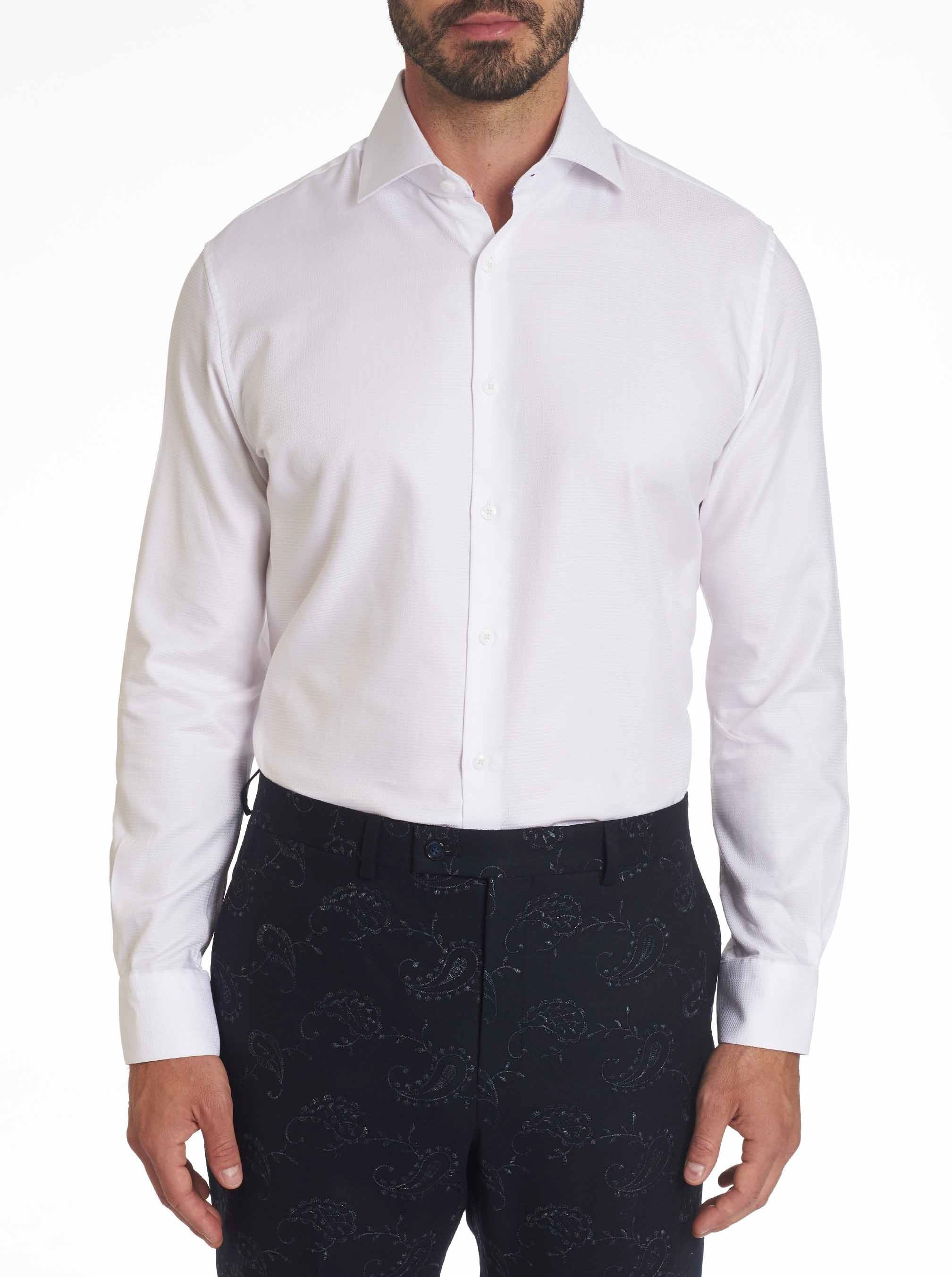 Robert Graham - Rosco - White Dress Shirt