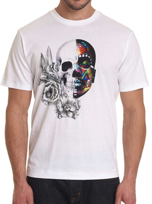Robert Graham White Bonehead Shirt