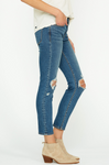 Hudson B-Good Tally Midrise Skinny Crop